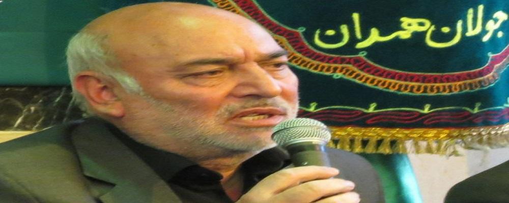 حاج سید علی حسنی (پیرغلام اهل بیت و از دوستان مرحوم استاد مسکین) :