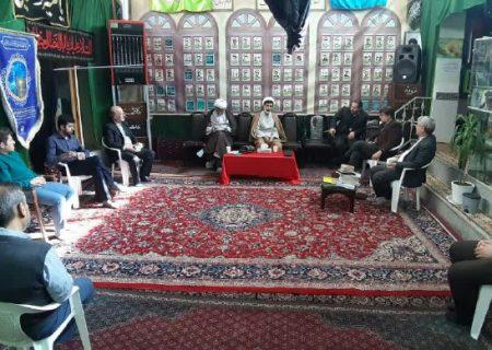 جلسه بامدیرکل وبرخی مدیران سازمان تبلیغات اسلامی استان درمکتب امام زمان عج (پنجشنبه مورخه ۹۸/۱۲/۲۱)