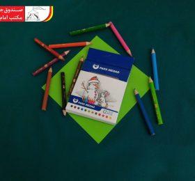 مداد رنگی ۱۲ رنگ
