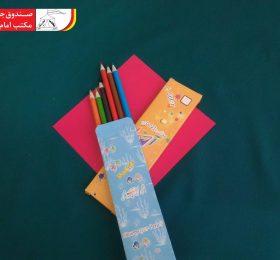 مداد رنگی ۶ رنگ
